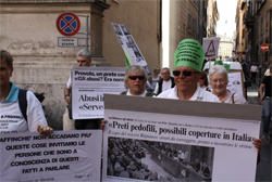 March to parliament of La Colpa