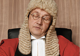 Sleeping Judge
